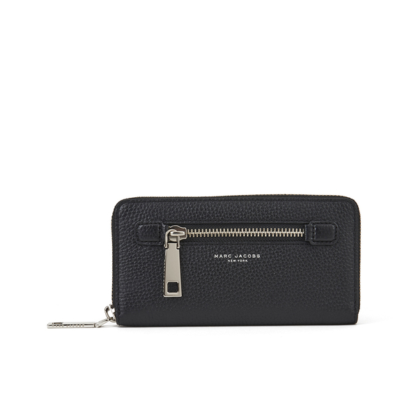 Marc By Marc Jacobs Womens Gotham City Standard Continental Wallet - Black