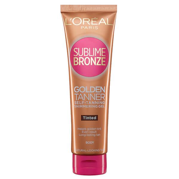 Le gel autobronzant Sublime Bronze Body Shimmer (Tinted) de L'Oréal Paris (150ml)