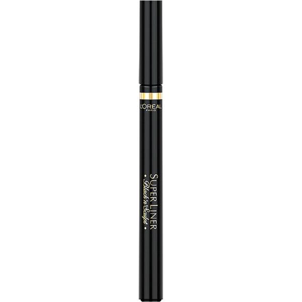 Delineador de ojosSuperliner Black 'n' Sculpt Eyeliner en negro de L'Oréal Paris