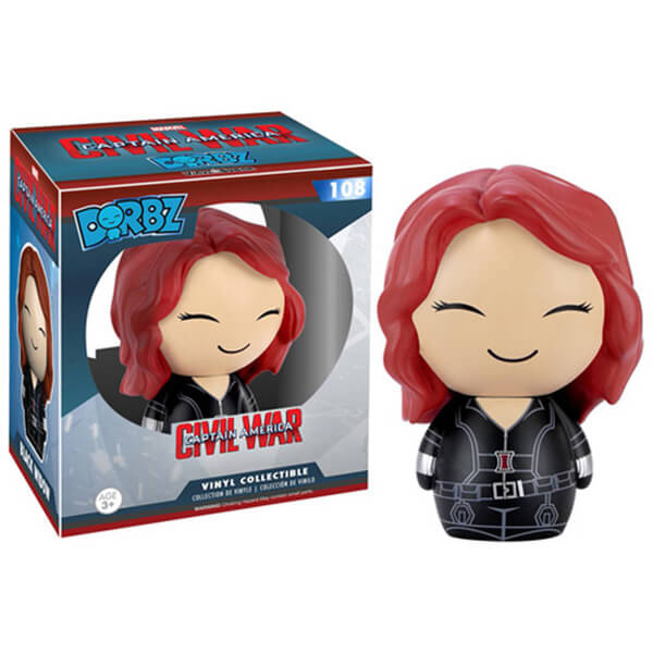Marvel Captain America Civil War Black Widow Dorbz Action Figure