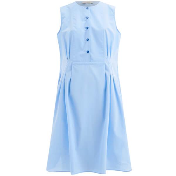 Paul by Paul Smith Women's Poplin Shirt Dress - Blue
