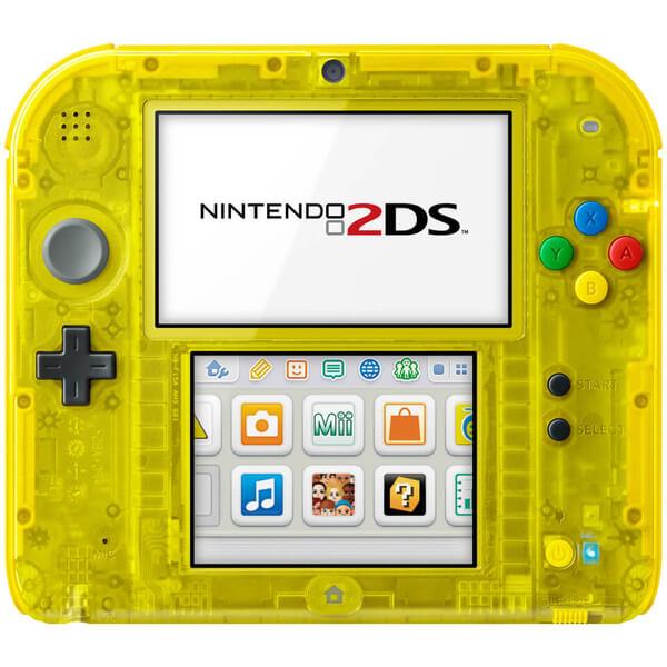 Nintendo 2ds Special Edition Pokemon Yellow Version