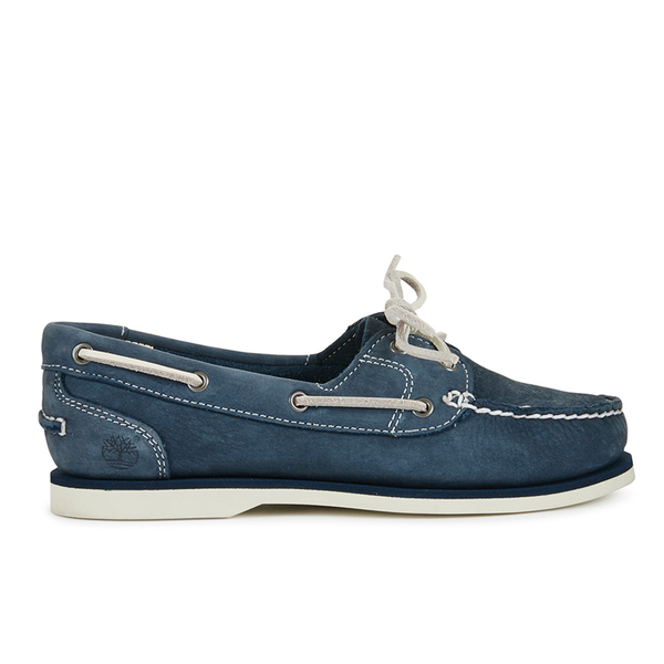 timberland s classic boat shoes navy blue womens