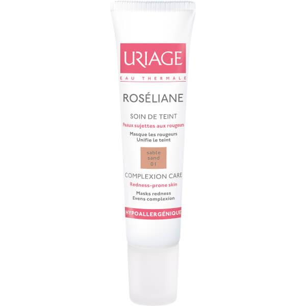 Maquillaje Antienrojecimiento Uriage Roséliane Treatment - Tono Sand (15ml)