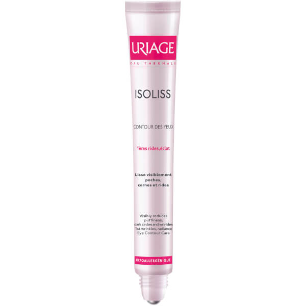 Uriage Isoliss Eye Contour Roll-On for Wrinkle Prevention and Correction (15ml)