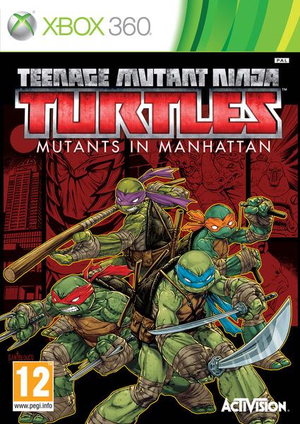Turtles All Way Down >> Teenage Mutant Ninja Turtles - Mutants in Manhattan Xbox 360 | Zavvi.com