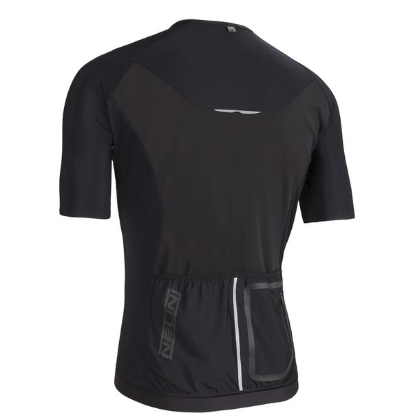 Nalini Xrace Logo Ti Short Sleeve Jersey - Black: Image 11