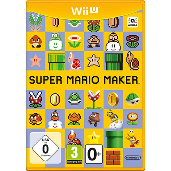 Super Mario Maker Wii U Premium Pack + 8-Bit Mario Soft Toy Nintendo UK Store