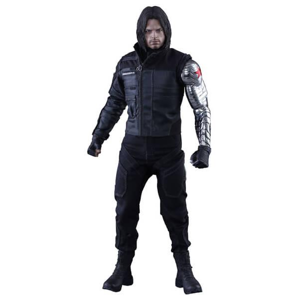 Hot Toys Marvel Captain America Civil War Winter Soldier 12 Inch Figure