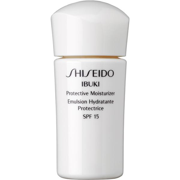Shiseido Ibuki Protective Moisturizer - 15ml (Free Gift) (Worth £8.40)