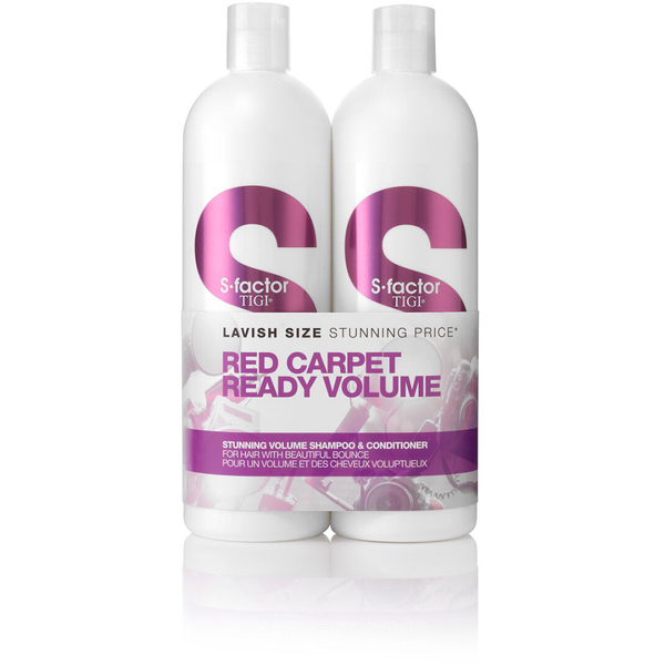 Duo Tween Stunning Volume S-Factor TIGI (2 x 750 ml) (valeur 64 €)