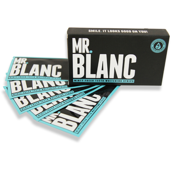 Mr Blanc Teeth ZahnweißstreifenVorrat für 14 Tage