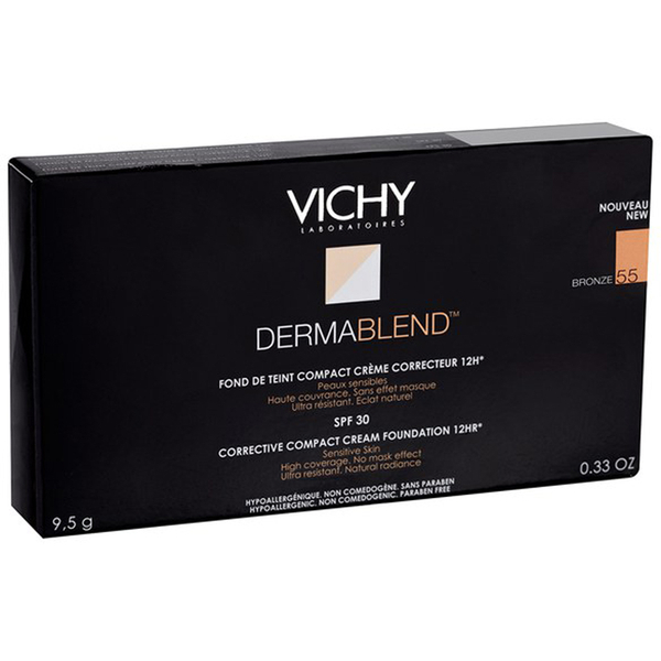 Crema Compacta Correctora Dermablend de Vichy (10 g) (varios tonos)