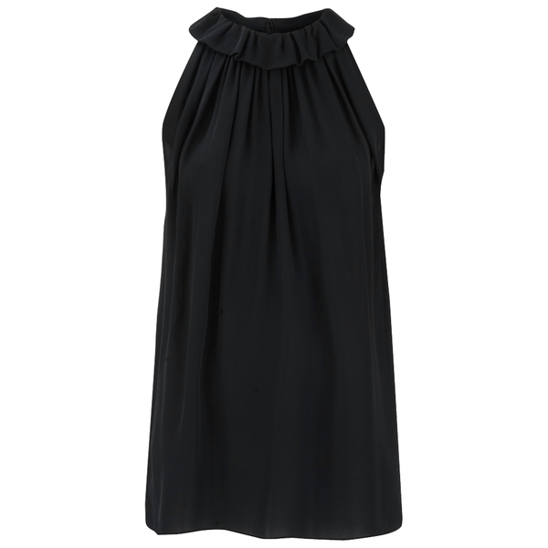 McQ Alexander McQueen Women's Ruffle Top - Black