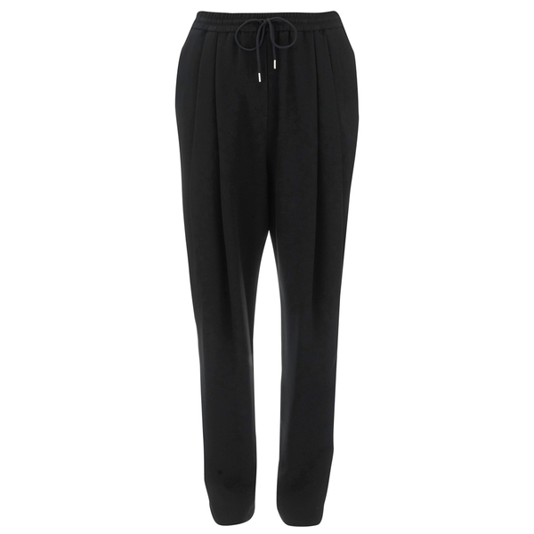 McQ Alexander McQueen Women's Pleat Front Loose Trousers - Black