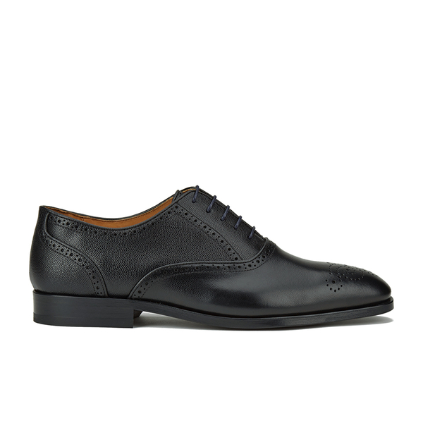 PS by Paul Smith Men's Gilbert Leather Brogues - Black Oxford Dax Grain
