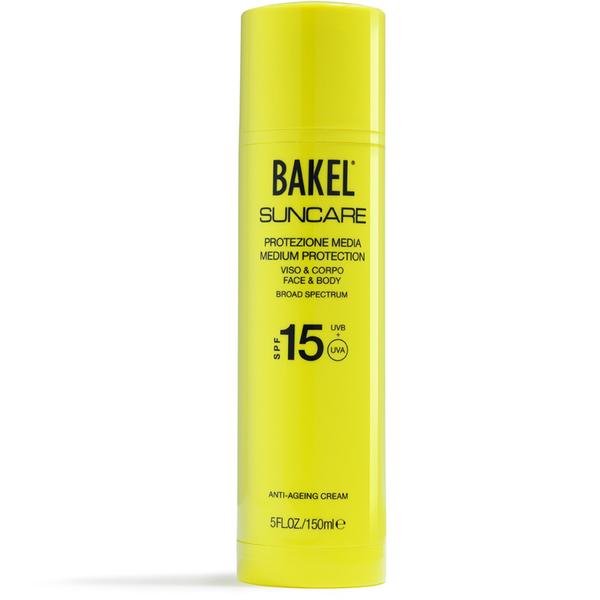 Protection contre le soleil Visage et Corps BAKEL SPF 15 150 ml