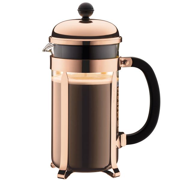 Princess One Cup Coffee Maker Review : Bodum Chambord 8 Cup Coffee Maker Copper Homeware TheHut.com