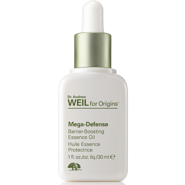Huile Essence Protectrice Barrier-Boosting Mega-Defense Dr. Andrew Weil for Origins 30 ml