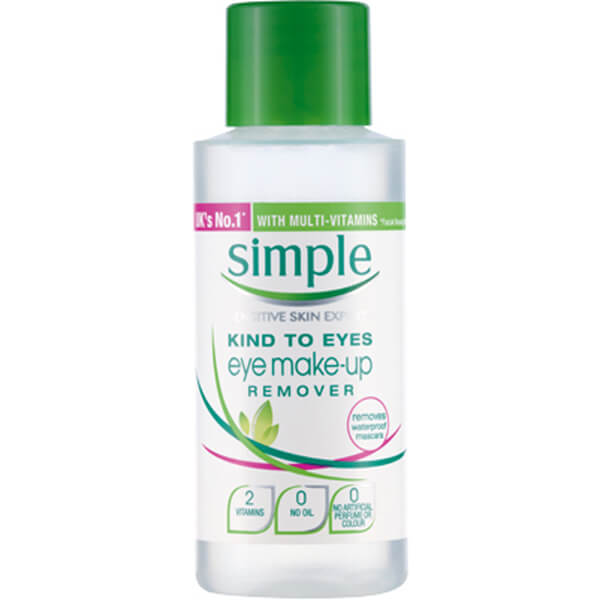 Démaquillant doux pour les yeux Eyes Make-up Remover de Simple Kind (50 ml)
