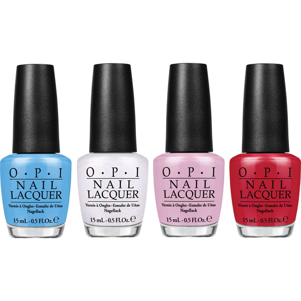 OPI Alice In Wonderland Nagellack-Kollektion - Mini Royal Court of Colour Mini Pack 4 x 3,75 ml