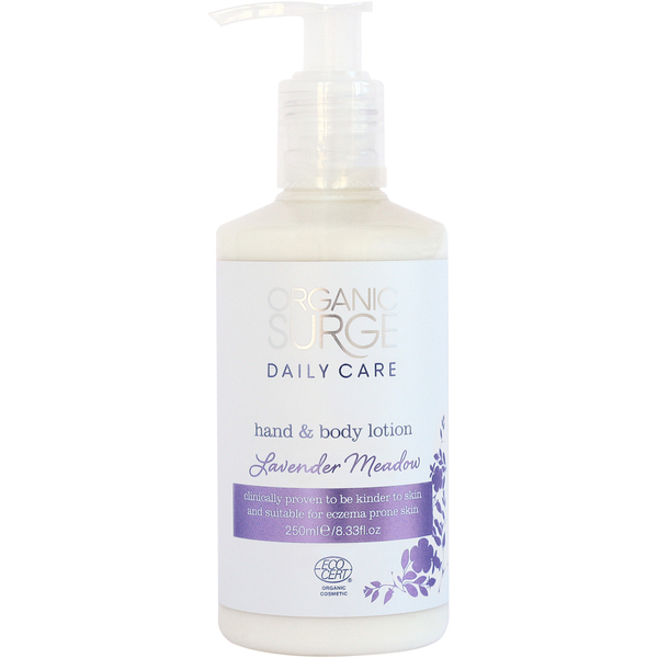 Lavender Meadow Hand and Body Lotion de Organic Surge (250ml)
