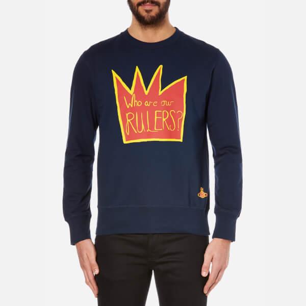 Vivienne Westwood MAN Men's Rulers Sweatshirt - Navy