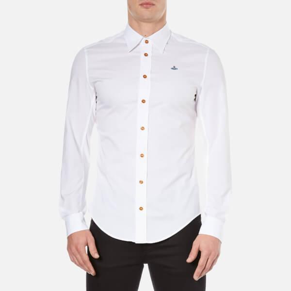 Vivienne Westwood MAN Men's Poplin Stretch Shirt - White