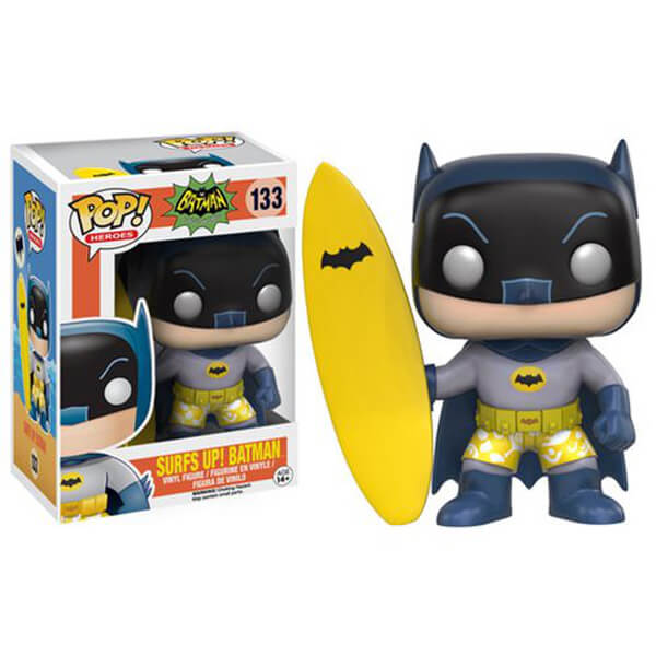 Batman Classic 1966 TV Series Surf's Up Batman Pop! Vinyl Figure