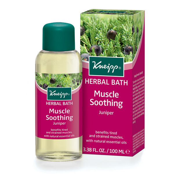 Aceite de baño natural Muscle Soother con enebro de Kneipp (100 ml)