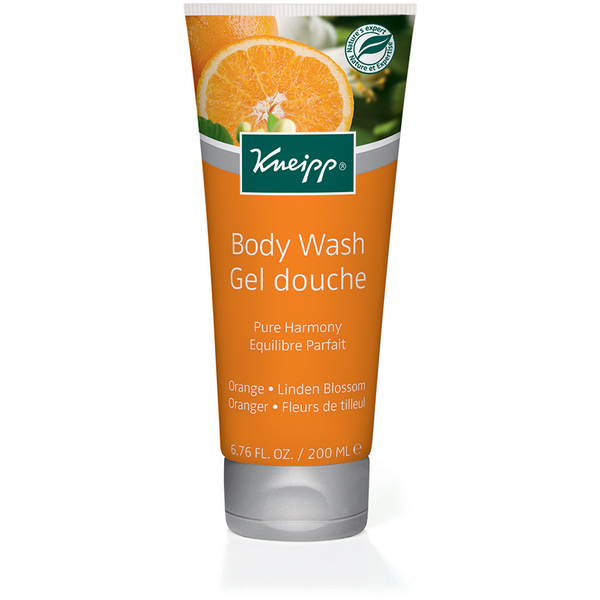 Kneipp Pure Harmony Orange and Linden Blossom Body Wash (200ml)
