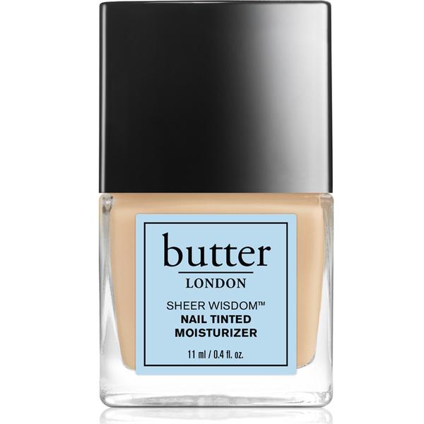 Sheer Wisdom Nail Tinted Moisturiser de butter LONDON 11ml -Léger