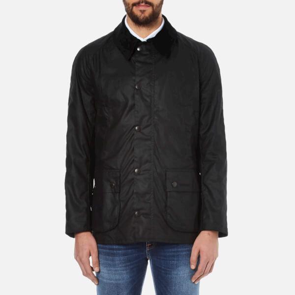 Barbour Heritage Men's Ashby Waxed Jacket - Black