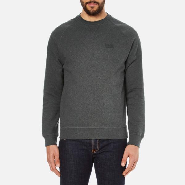 Barbour International Men's Small Logo Sweatshirt - Charcoal Marl