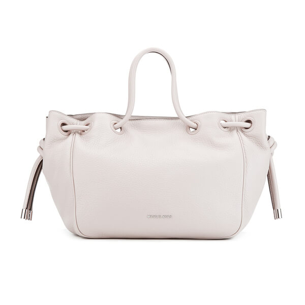 MICHAEL MICHAEL KORS Dalia Shoulder Tote Bag - Cream