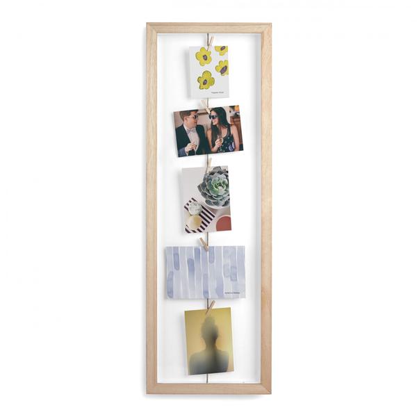 Umbra Clothesline Flip Photo Display Frame - Natural
