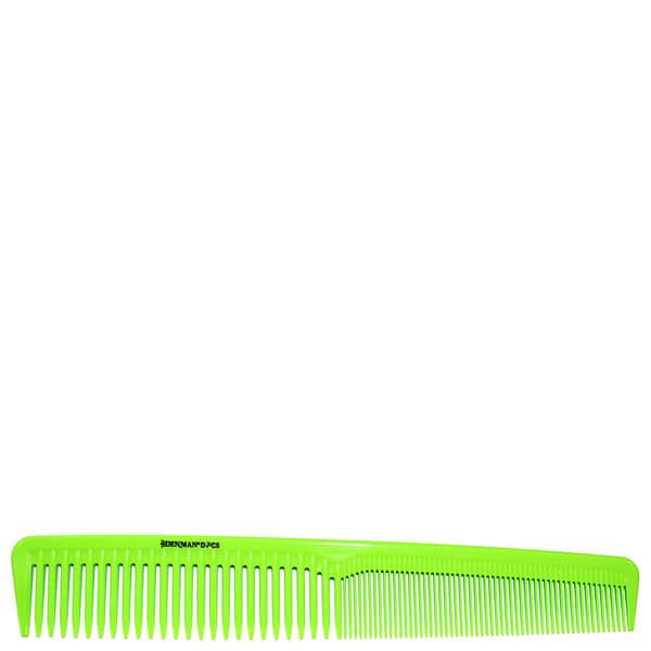 Peine de precisión Waver Comb de Denman - verde lima