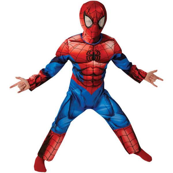 Marvel Boys' Deluxe Spider-Man Fancy Dress