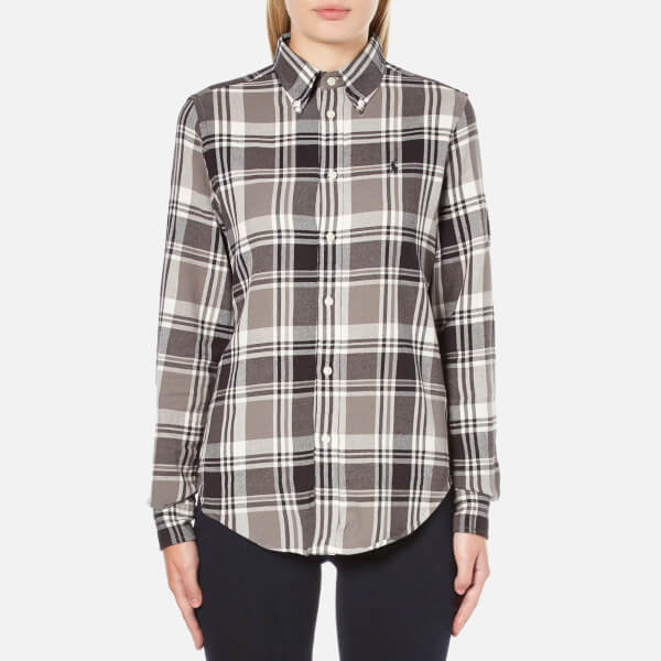 Polo Ralph Lauren Women's Georgia Flannel Shirt - Brown