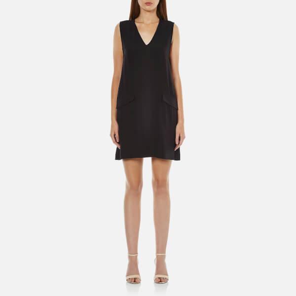 Ganni Women's Kamiko Dress - Black
