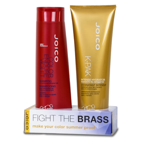 Joico Fight the Brass Kit (Worth £29.90)