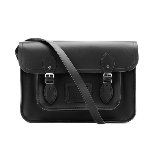 The Cambridge Satchel Company Women's 14 Inch Magnetic Satchel - Black