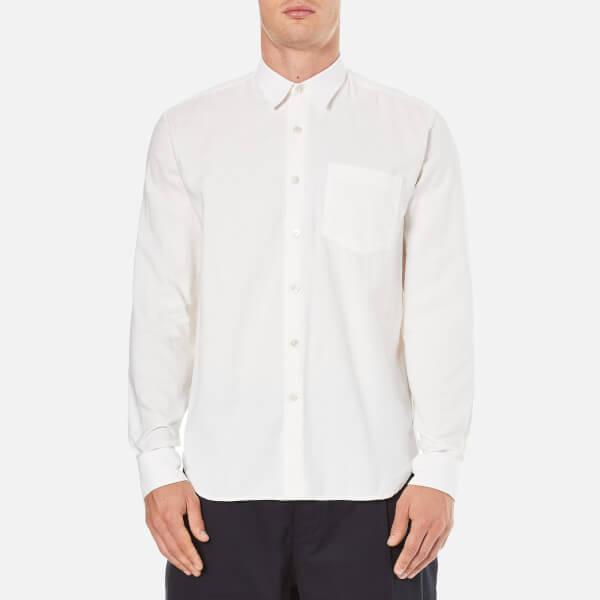 Our Legacy Men's Basket Weave Shirt - White