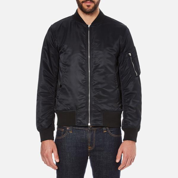 rag & bone Men's Manston Bomber Jacket - Black