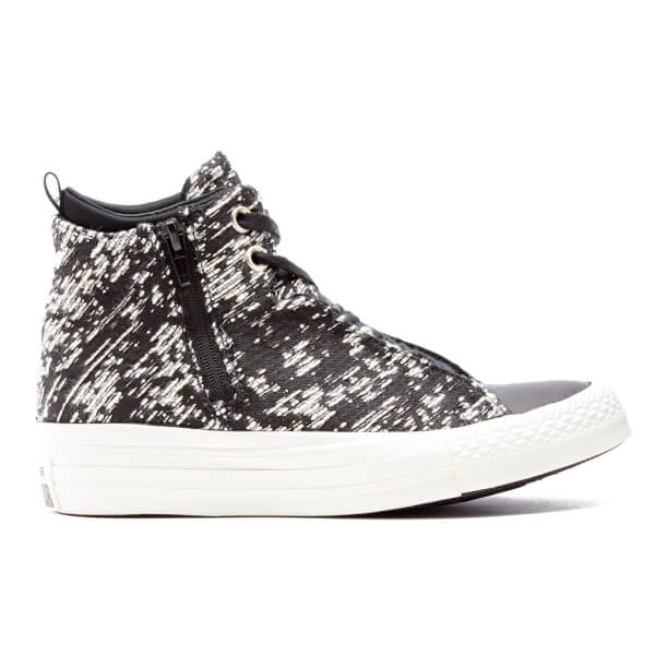 Converse Women's Chuck Taylor All Star Selene Wedged Boots - Black/Gold