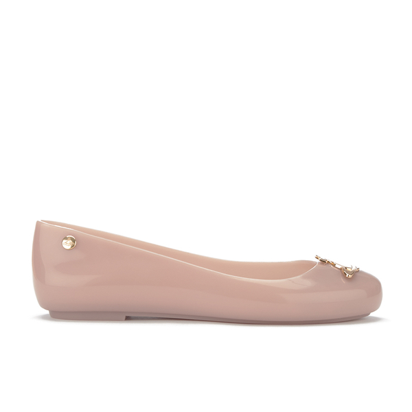 Vivienne Westwood for Melissa Women's Space Love 16 Ballet Flats - Nude Orb