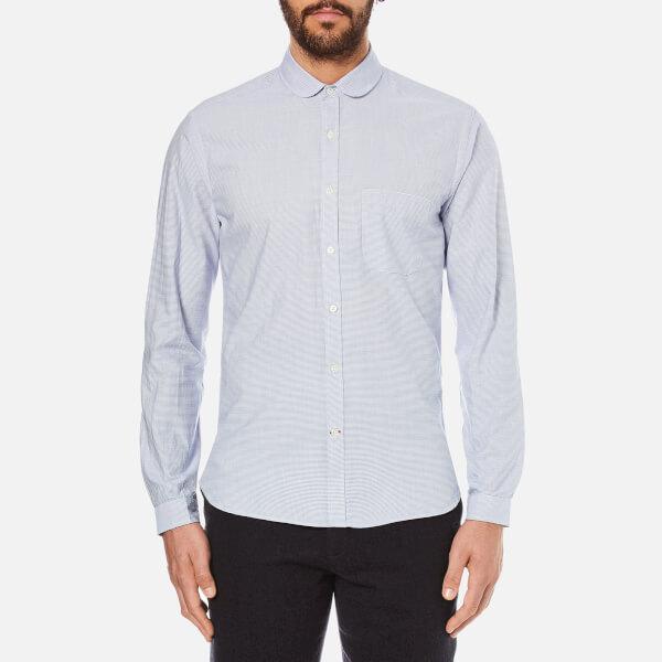 Oliver Spencer Men's Eton Collar Shirt - Broadstone Sky
