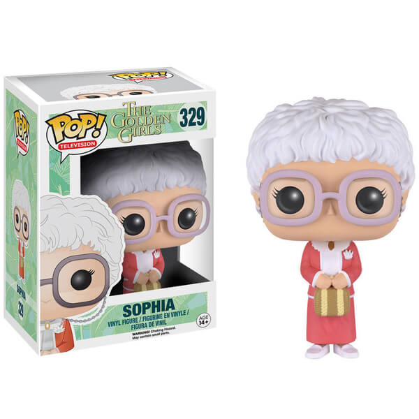 Golden Girls Sophia Pop Vinyl Figure Merchandise Zavvi Com