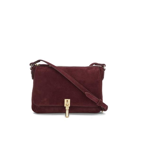Elizabeth and James Women's Cynnie Micro Cross Body Bag - Bordeaux