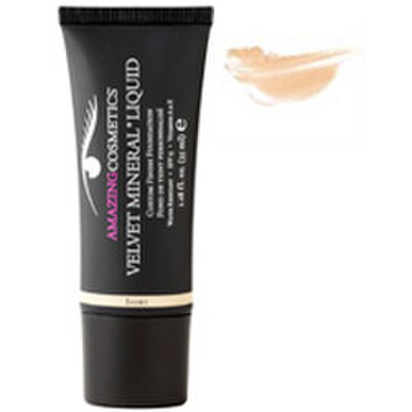 Amazing Cosmetics Velvet Mineral Liquid Custom Finish Foundation - Light Golden